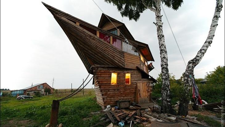Самые необычные дома России