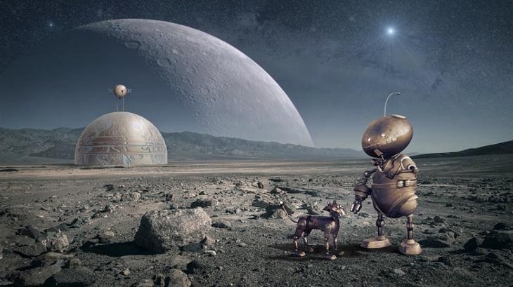 Парящий дом пришельцев наЛуне сбил NASA столку