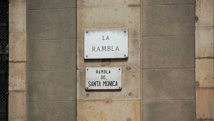 Теракт вцентре Барселоны: неизвестный нафургоне въехал втолпу людей