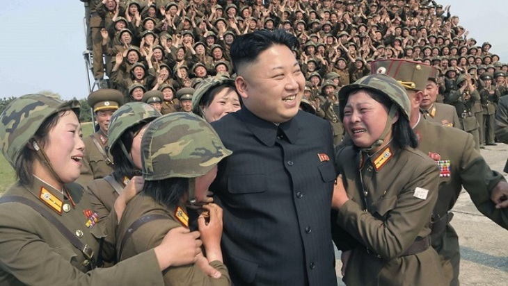 Ким Чэн Ынпотребовал наращивать производство ракетных моторов