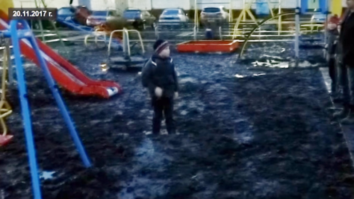 Путину поведали озастрявшем вгрязи мальчике изЦивильска
