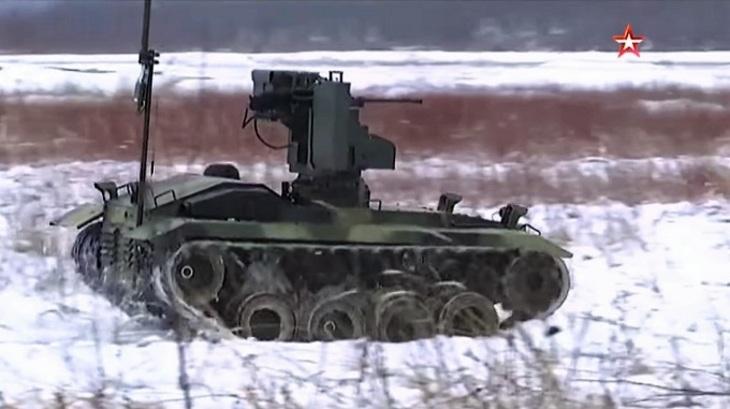 Универсальный солдат: эксклюзивные кадры испытаний самого нового боевого робота «Нерехта»