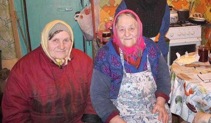 Старушки и внуки русское