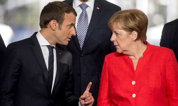 Порошенко встретится сМеркель иМакроном. В. Путина  незовут