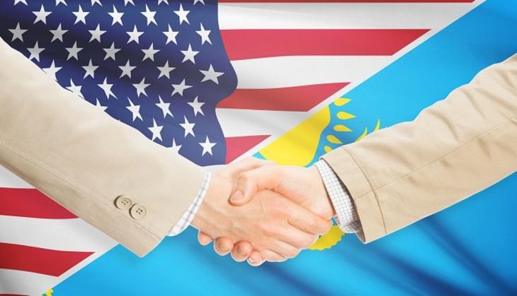 рукопожатие флаги