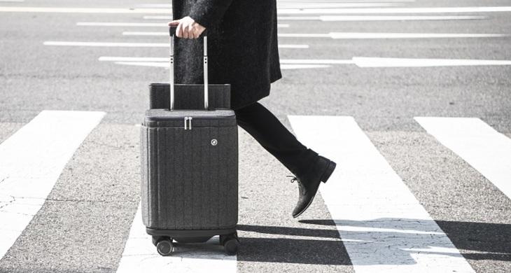 Самый энергичный чемодан - фото