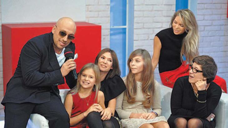 Дмитрий нагиев с детьми фото