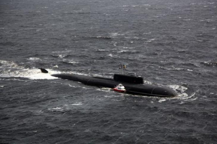Атомная подводная лодка северного