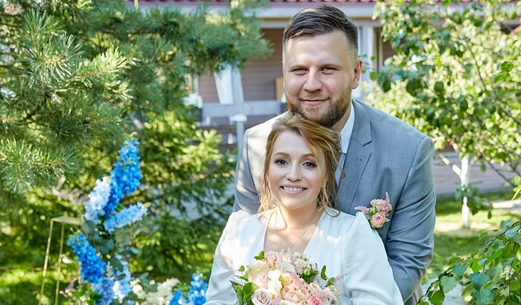 Sabitova scolded for his daughter's wedding - photos