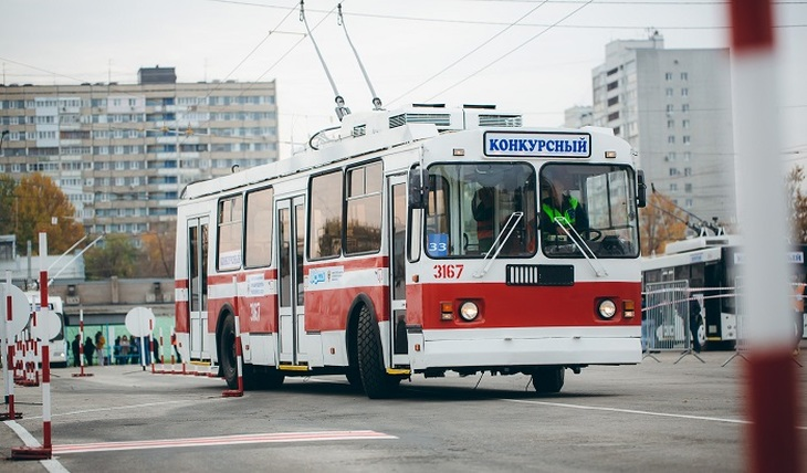 The best trolleybus driver works in Yekaterinburg - photo