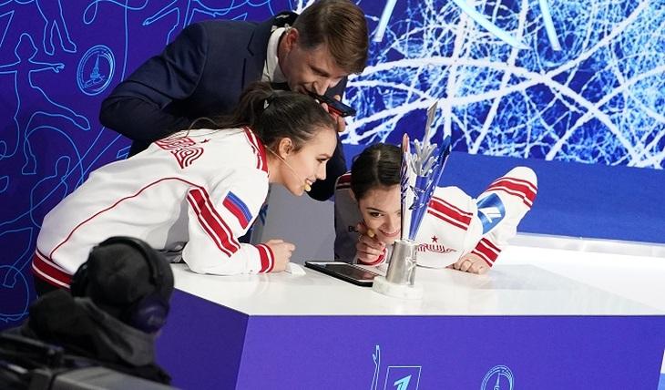 Медведева снова против Загитовой - фото