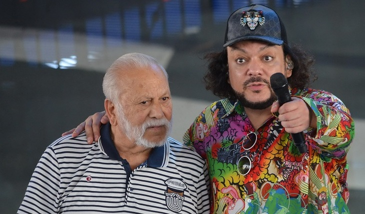 Bedros Kirkorov does not listen to his son - photo
