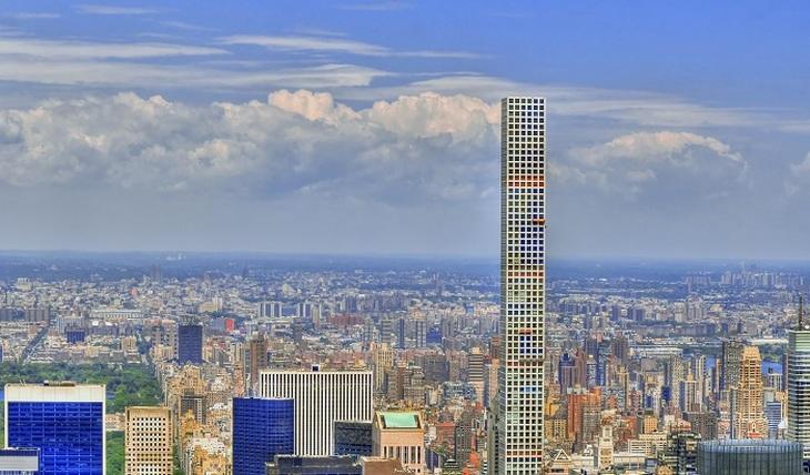 Держитесь крепче: качающийся небоскреб Нью-Йорка - фото
