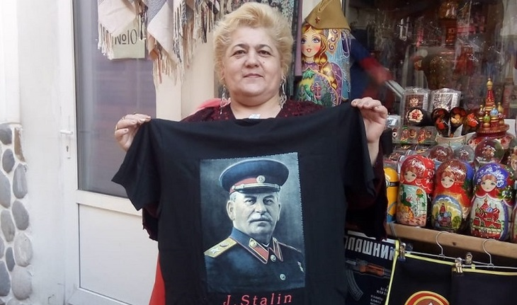 Stalin's great-granddaughter goes to court - photo