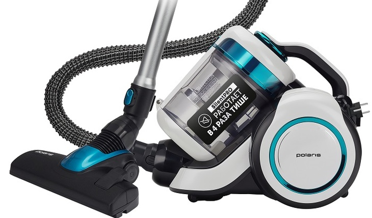 Vacuum cleaner Polaris PVC 1834 Silent - for those who appreciate silence - photo