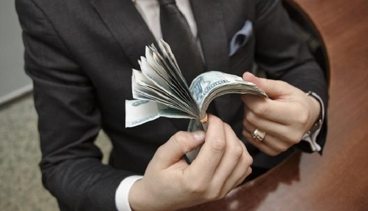 Trillion in small bills - photo