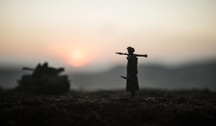 Civil war unfolding in Afghanistan - photo