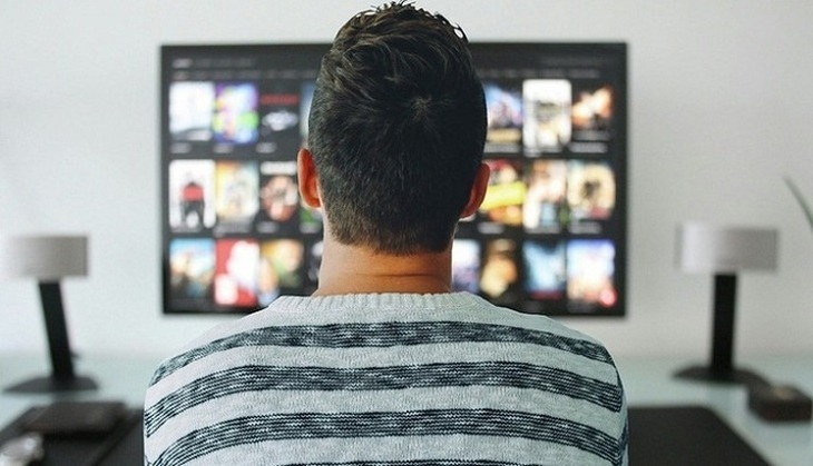 Television strike against Russia - photo