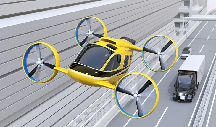 A flying car was invented in Zhukovsky - photo