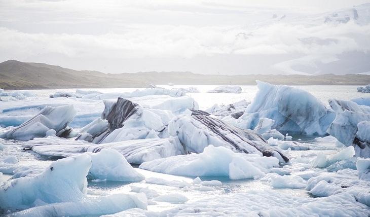 Рекордные морозы на Южном полюсе - фото