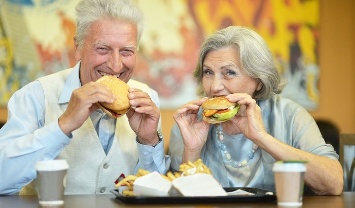 Fast food causes dementia - photo