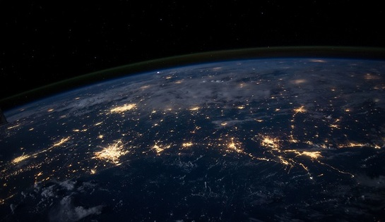Европа из космоса