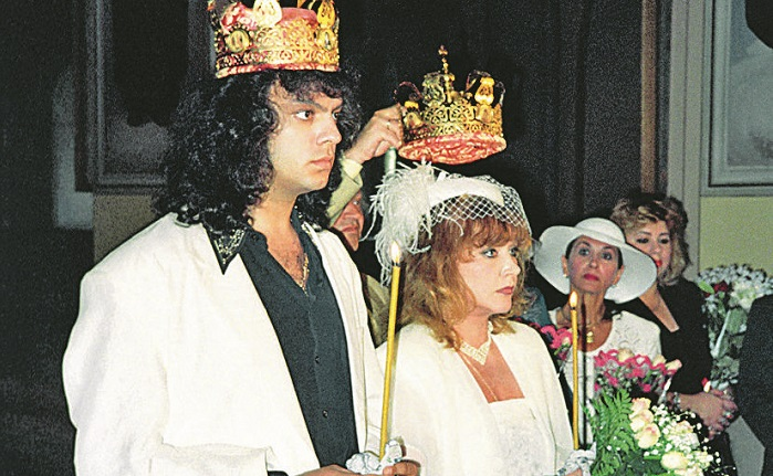 The wedding of Philip Kirkorov and Alla Pugacheva