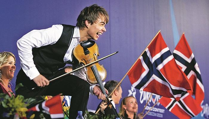 Alexander Rybak at Eurovision