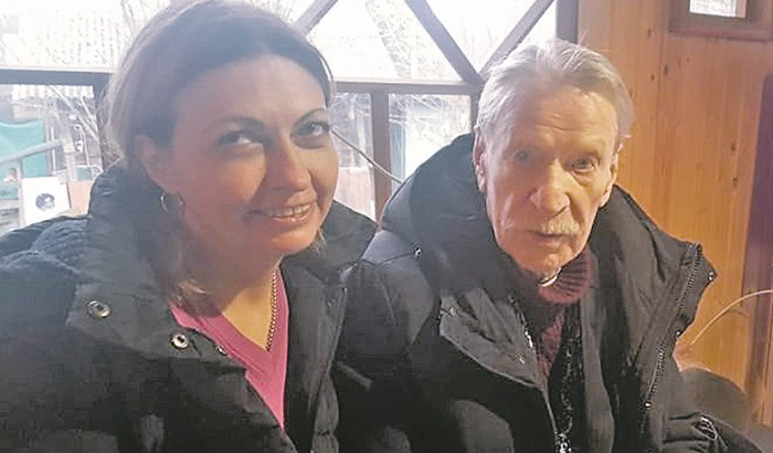 Ivan Krasko and Natalia Smykova