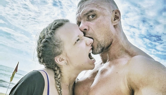 Владимир Епифанцев и ненешняя девушка