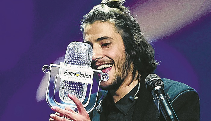 Salvador Gathered at Eurovision