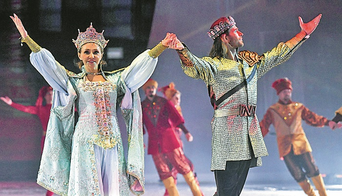 Peter Chernyshev in a fairy tale on ice