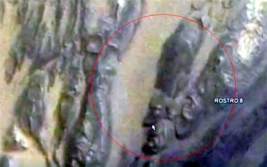 На поверхности Марса ученые обнаружили лицо фараона