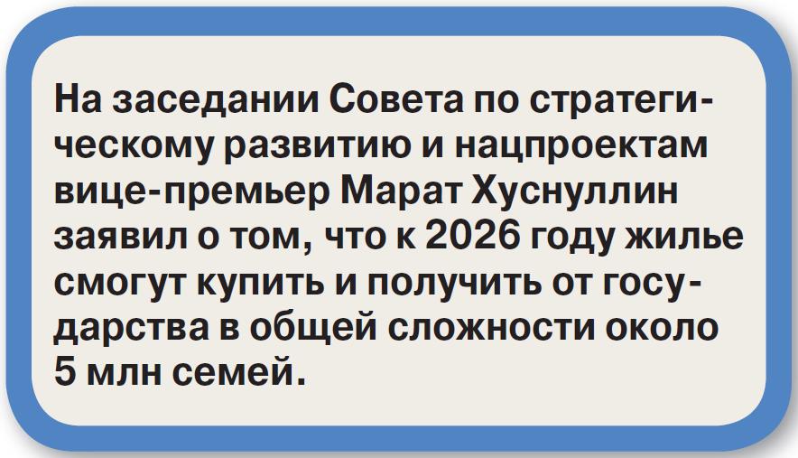 Квартирный вопрос больше не испортит россиян?