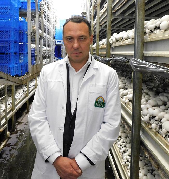 Alexander Udodov owns the main stake in Mushroom Rainbow
