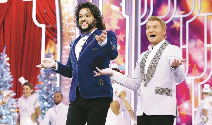 Philip Kirkorov and Nikolay Baskov